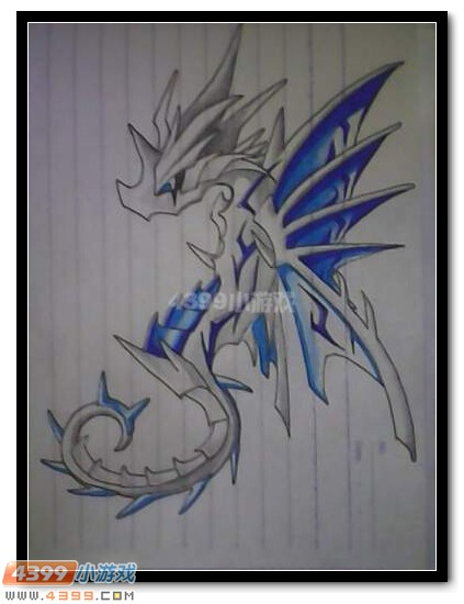卡布手绘—海龙马的超进化_4399卡布西游手机版