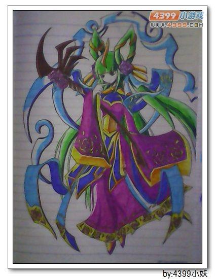 卡布手绘—灵萝仙姬超进化_4399卡布西游手机版
