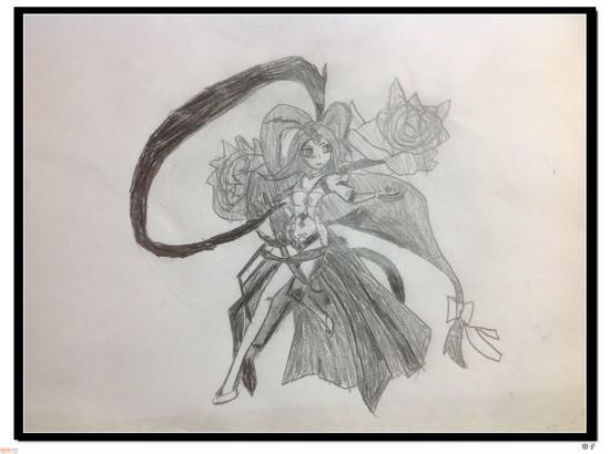 热血精灵派手绘 美人圣·貂蝉