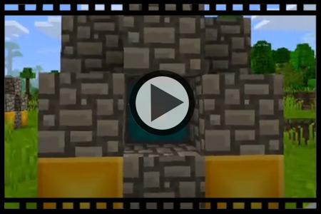 黑龙江黑怕歌�_我的世界手机版下界视频教程  ①圆石需用木镐挖,用手是撸不下来的!
