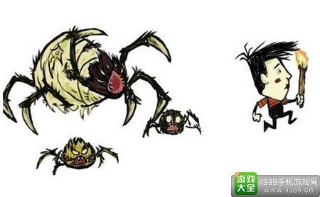 饥荒刷蜘蛛