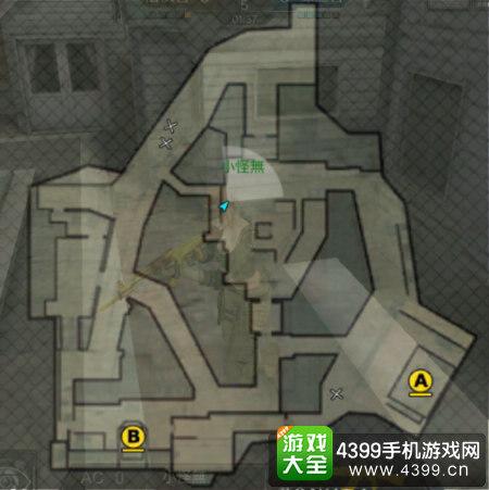 穿越火线枪战王者鹰眼地图解析