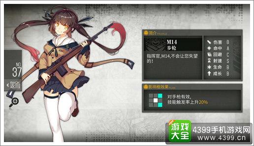 少女前线M14