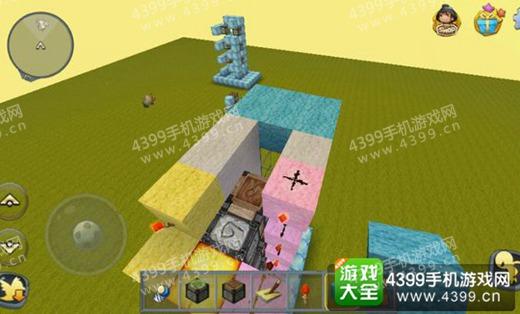 迷你世界电石电梯出口平台