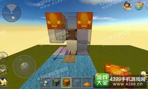 迷你世界电梯玻璃封顶