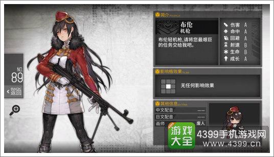 少女前线机枪评测