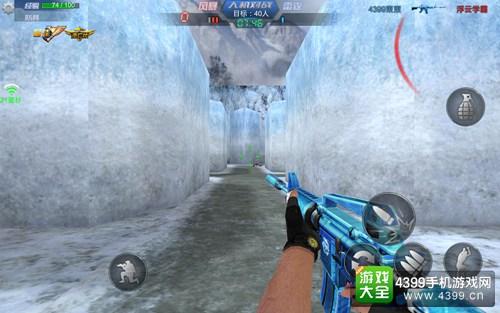 生死狙击手机版M4A1冰封解析