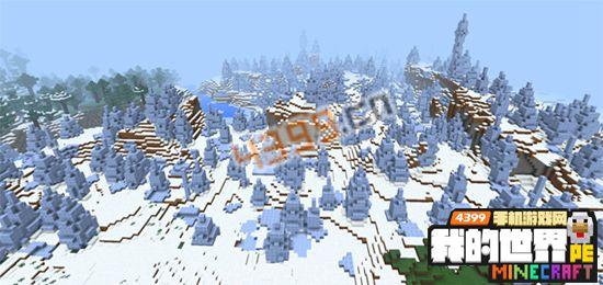 我的世界手机版冰雪城堡代码