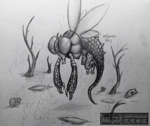 饥荒玩家手绘作品展示 怪物篇上