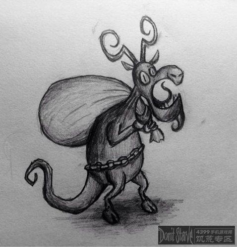 饥荒玩家手绘作品展示 怪物篇下