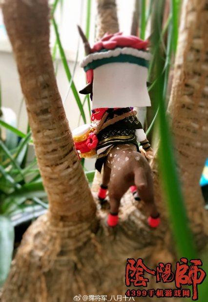 阴阳师盆栽里的小鹿男 粘土人偶欣赏