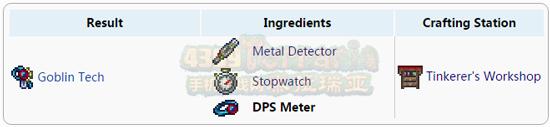 泰拉瑞亚DPS计量器合成