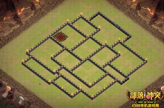 部落冲突9.5本阵型定义模糊 10本部落战阵型