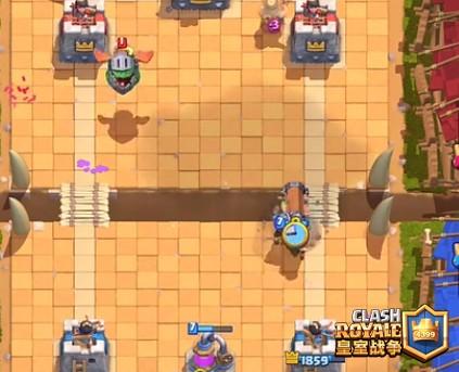 皇室战争野蛮人攻城锤放置位置