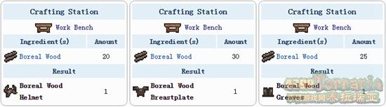 泰拉瑞亚北地木套装