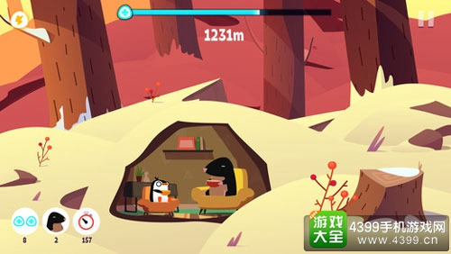 小企鹅大冒险游戏
