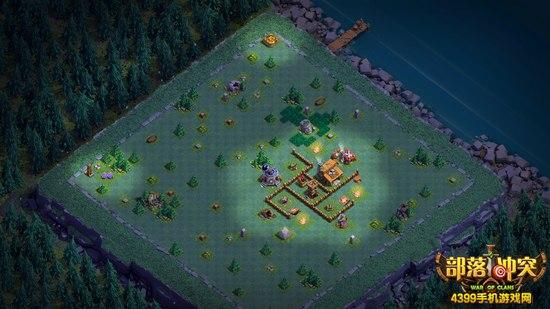 部落冲突夜世界阵型