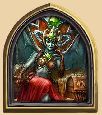 炉石传说鲜血女王兰娜瑟尔