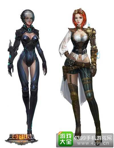 生死狙击新角色盖姬和幻影即将登场