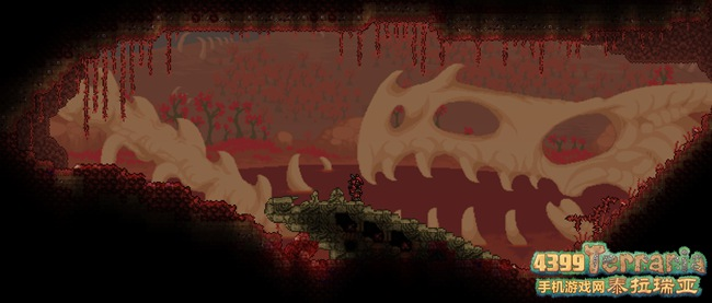 《泰拉瑞亚》1.3.6血腥之地新增背景展示