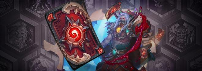 炉石传说血骑士卡背