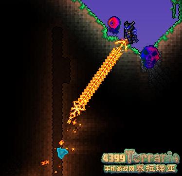 泰拉瑞亚剑冢在哪里 泰拉瑞亚手机版剑冢