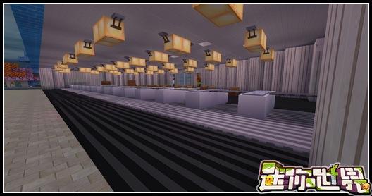 迷你世界对战地图:废旧机场对战1.0