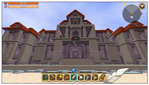 迷你世界创造地图:超级校园 玩家存档分享