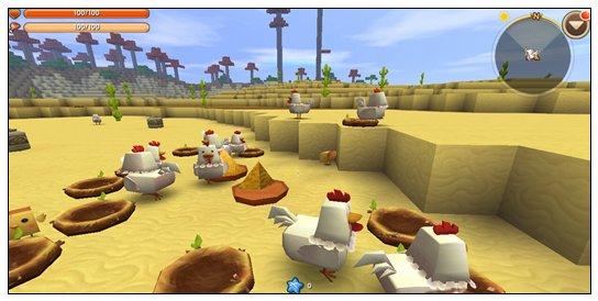 迷你世界更新后鸡吃什么 怎么喂鸡