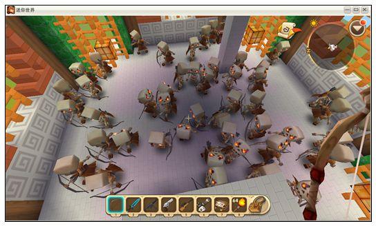 迷你世界解密地图:梦境炼妖塔 好玩存档