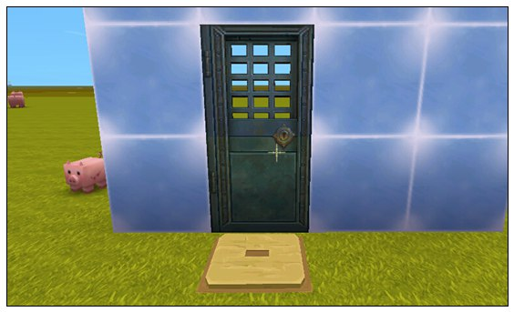 迷你世界铁门怎么开 铁门怎么做