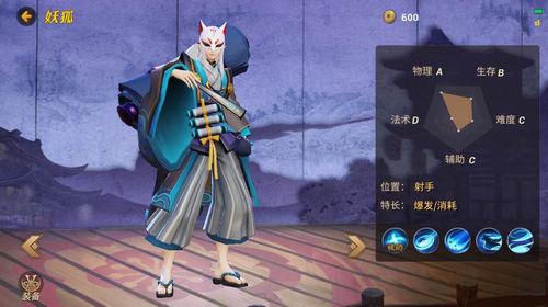 代号MOBA妖狐