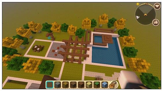 迷你世界创造地图:建筑群 好玩存档分享