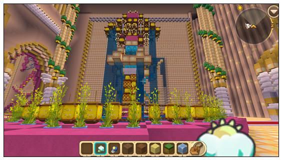 迷你世界创造地图:梦幻城堡 好玩存档分享