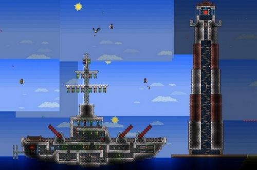 泰拉瑞亚海上战舰