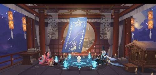 阴阳师十月神秘图案