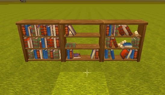 迷你世界书柜