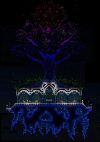 泰拉瑞亚浮空生命树