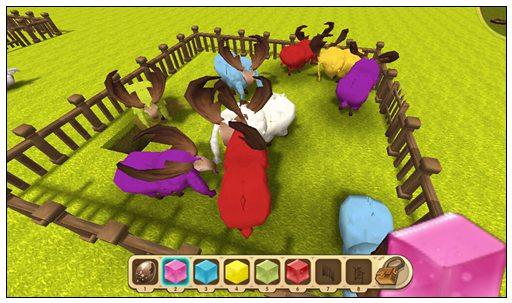 迷你世界怎么给羊染色 羊怎么变色