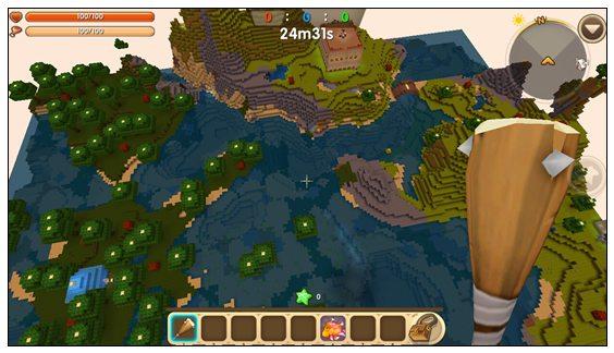 迷你世界对战地图:绝地大逃杀 好玩存档分享