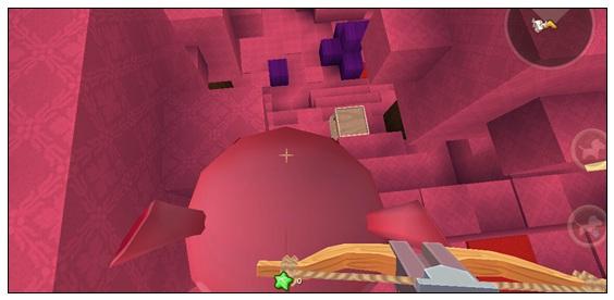迷你世界对战地图:粉色星球-初生(降临) 好玩存档分享