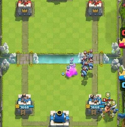 皇室战争实战1