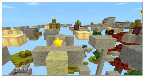 迷你世界对战地图:空岛战争 好玩存档分享