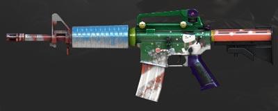 CF手游M4A1-经典圣诞