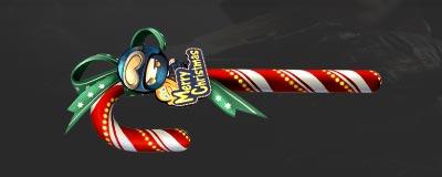 CF手游圣诞拐杖