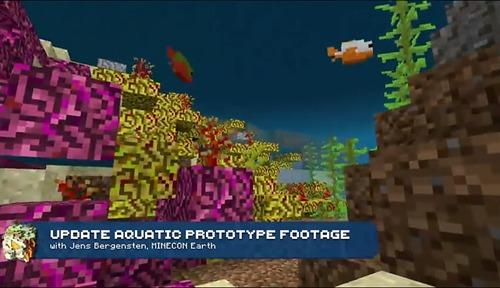 我的世界水域更新内容 海底世界更新内容一览