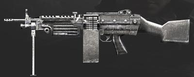 CF手游M249银色杀手