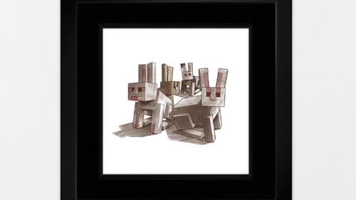 我的世界用MINECRAFT艺术支持慈善 多图欣赏
