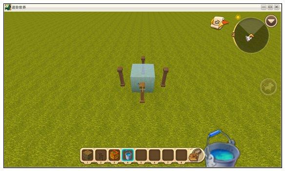 迷你世界静态水怎么弄 怎么做静态水方块