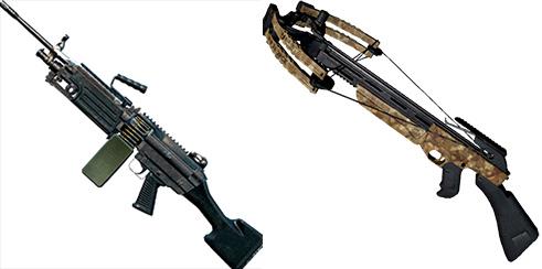 绝地求生刺激战场中的各类枪械,你最喜欢哪个?